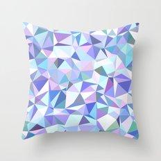 Light purple geometry Throw Pillow
