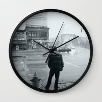 baltimore Wall Clocks featuring Baltimore by Nick Coleman