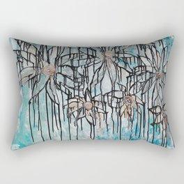 Disillusion Series - Sacred Flowers Rectangular Pillow