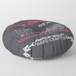 MotoBiKe RiDe 12 Floor Pillow