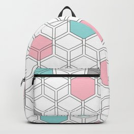 Hexagon nordic pattern Backpack