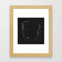 """Hannibal & Will - """"You and I have begun to blur"""" Framed Art Print"""