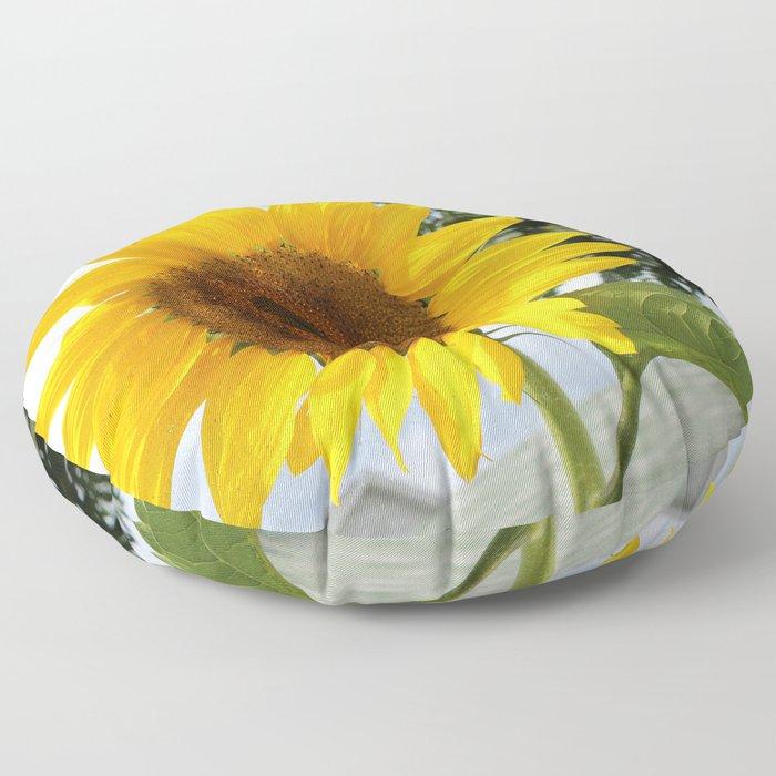 une seule fleur Floor Pillow