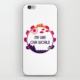 My Van Our World - Sunset iPhone Skin