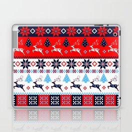 Scandinavian holidays pattern design Laptop & iPad Skin