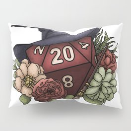 Wizard Class D20 - Tabletop Gaming Dice Pillow Sham