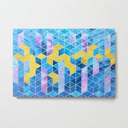 Geometric XXXXXIX Metal Print