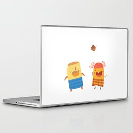 YOU MAKE ME SMILE Laptop & iPad Skin