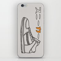 sneaker iPhone & iPod Skins featuring Sneaker by YTRKMR