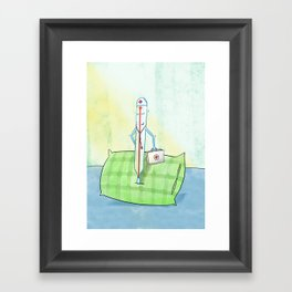Get well! Framed Art Print