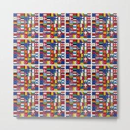 Europe/Europa Metal Print