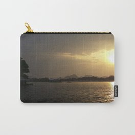 Sunset On The River Kwai Carry-All Pouch