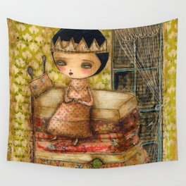 Sleepless Nights With The Princess And The Pea Wall Tapestry