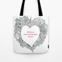 Wherever you go Tote Bag