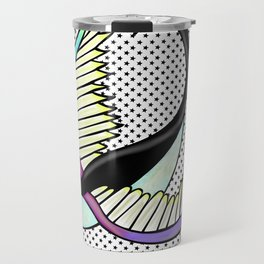 Black swallow odl school Travel Mug