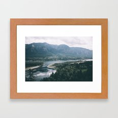 Columbia River Gorge IV Framed Art Print