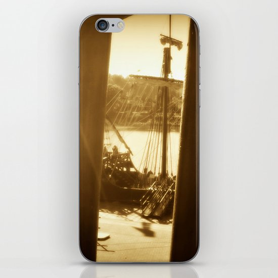Behind Bars iPhone & iPod Skin