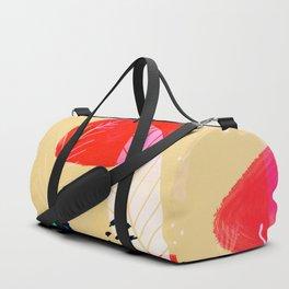 modern leaf Duffle Bag