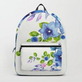 Blue Flowers 5 Backpack