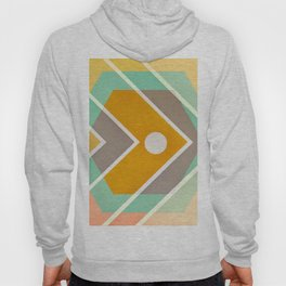 Fish -color graphic Hoody