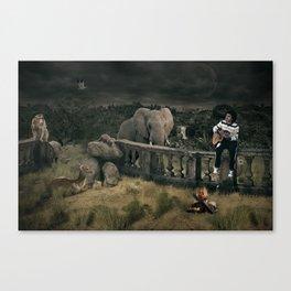 Animal Whisperer Canvas Print