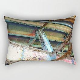 Beams and Girders - Charles River Overpass Rectangular Pillow