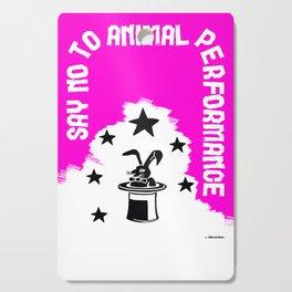 Say NO to Animal Performance – Rabbit Cutting Board