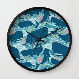 Aquatic Life Wall Clock