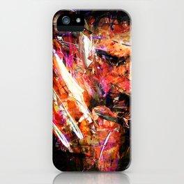 BRUSHWOLVERINE iPhone Case
