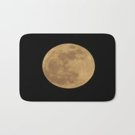 Super Moon  Bath Mat