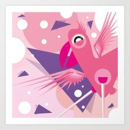 Meet Pinky Art Print