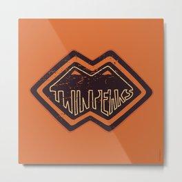 twin peaks dudes Metal Print