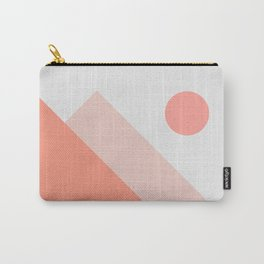 Geometric Landscape 13 Carry-All Pouch