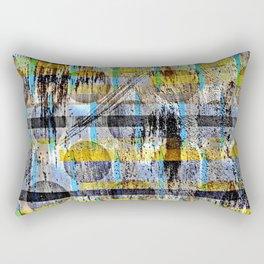 ABSTRACT/LIPSTICK ON A PIG Rectangular Pillow