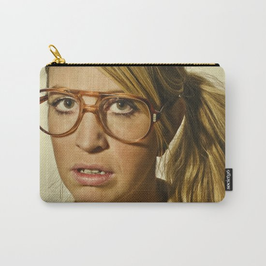 i.am.nerd. :: lizzy c. Carry-All Pouch