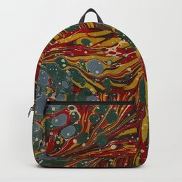 Melting Marbled Paper Backpack