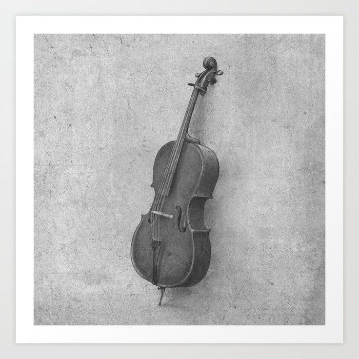 The Cello  Art Print