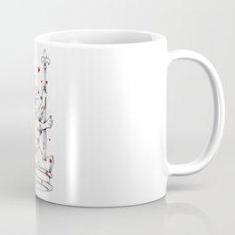 Crown Herald Lion KINGDOM Coffee Mug