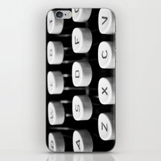 Vintage typewriter 3 iPhone & iPod Skin