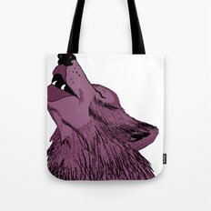 Howlin for Love Tote Bag