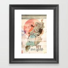 Nun on the Run Framed Art Print