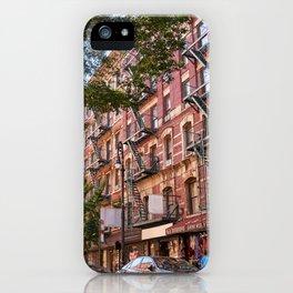 Lower eastside new york iPhone Case