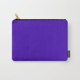 Purple just purple Carry-All Pouch