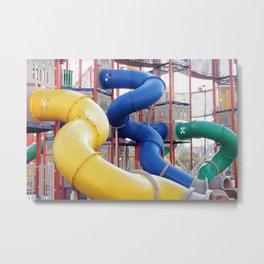Kids Play Ground - Series 4 Metal Print