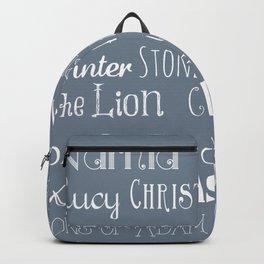 Narnia Celebration - gray Backpack