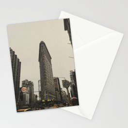 Flatiron building, New York architecture, NY building, I love NYC Stationery Cards