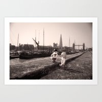 Wapping  Art Print