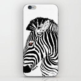 Zoe the Zebra iPhone Skin