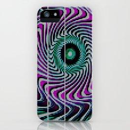 Wonka half-tones iPhone Case