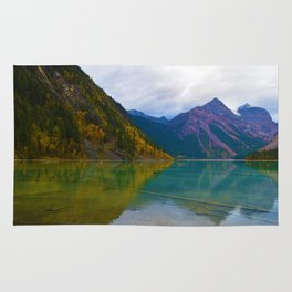 Kinney Lake in Mount Robson Provincial Park, BC / Canada Rug